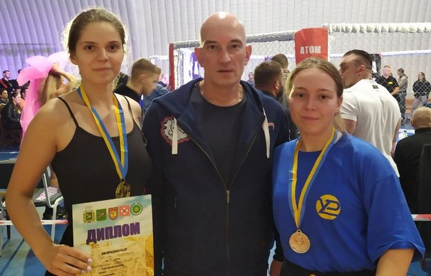 KNURE students successfully performed at the championship of the Kharkiv region from the Cossack duel