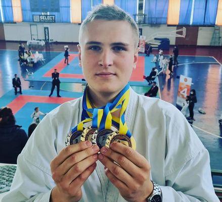 Victory in the Ukrainian Karate Cup in Kiev