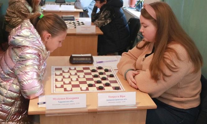 Ukrainian Drafts-64 Championship among women