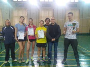 Змагання з настільного тенісу «Спорт протягом життя»