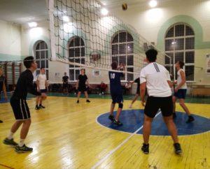 Другий ігровий день Першості з волейболу