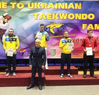 Студент ХНУРЕ увійшов до трійки лідерів на чемпіонаті України з тхеквондо