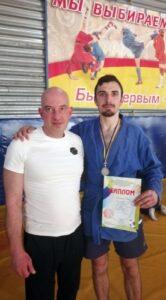 Відкритий обласний турнір з боротьби самбо