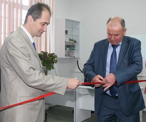 Открытие новой учебно-научной лаборатории