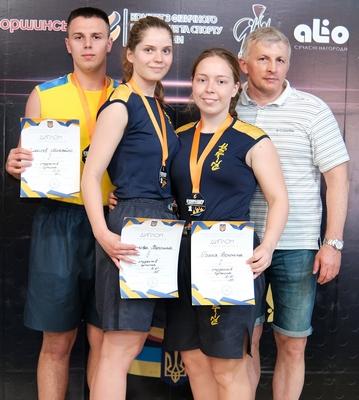 Поздравляем победителей и призеров чемпионата Украины по хортингу
